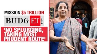 Govt to not go on spending splurge, money being spent on public asset creation: FM Sitharaman