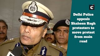 Delhi Police appeals Shaheen Bagh protesters to move protest from main road