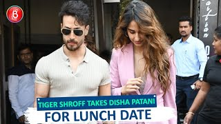 Amidst Malang Madness, Tiger Shroff Whisks Disha Patani Off For A Lunch Date