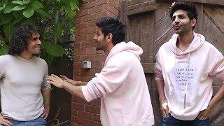 Promotions of 'Love Aaj Kal'   Kartik Aaryan & Imtiaz Ali SPOTTED During The Film Promotions