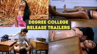 Degree College Release Trailers | 2020 Degree College Back To Back Trailers