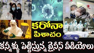 Coronavirus Disease Updates | China Virus Coronavirus Videos | Coronavirus In Wuhan | Top Telugu TV