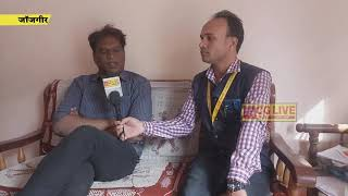एक मुलाकात खोखसा के सरपंच विनोद राज के साथ cglivenews