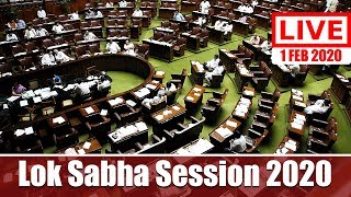 Watch Live! | Budget 2020-21 | Lok Sabha Session 2020 | 1st Feb 2020 | New Delhi, India