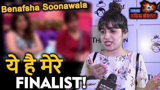 Bigg Boss 11 Contestant Benafsha Soonawala REVEALS Her TOP 3 Contestant Of BB 13