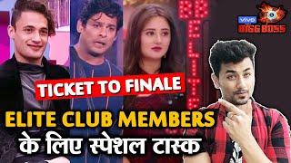 Bigg Boss 13 | Elite Club Members SPECIAL Task | Ticket To Finale | Sidharth, Rashmi, Asim |  BB 13