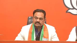 An eminent personality joins BJP in presence of senior BJP leaders at BJP headquarters in New Delhi.