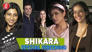 Tahira Kashyap & Konkona Sen Sharma at Special Screening of Shikara