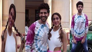 Sara Ali Khan & Kartik Aryaan Promoting Film Love Aaj Kal 2   News Remind