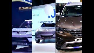 Auto Expo 2020:Tata,Renault,Maruti Subcompact SUV Concept Unveiled