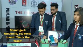 Chandigarh University students invent 'Track the Trash' for smart waste management system
