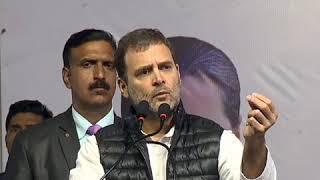 दिल्ली को दिल्लीवासियों ने बनाया कांग्रेस ने सहयोग किया: राहुल गांधी