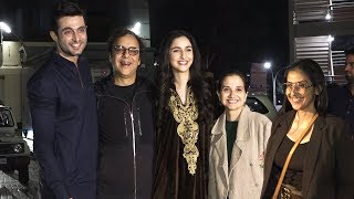 Manisha Koirala, Tahira Kashyap & Vidu Vinod Chopra With Full Team AT The Screening Of SHIKARA