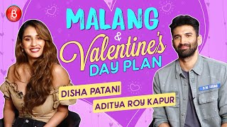 Disha Patani & Aditya Roy Kapur on Ideal Valentine's Date, Malang & Onset Fun