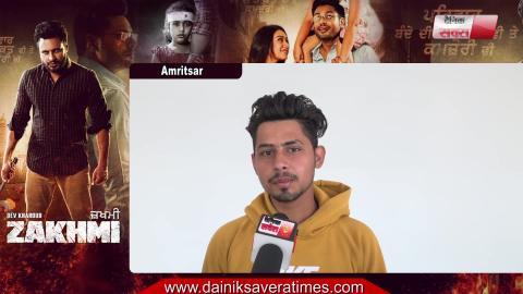 Zakhmi | Public Review | Amritsar | Dev Kharoud | Binnu Dhillon | Anchal Singh