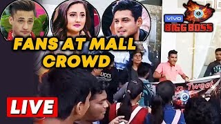 Bigg Boss 13 MALL Task | Fan Crowd Outside Mall | Sidharth, Asim, Rashmi | Oberoi Mall | BB 13