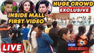 Bigg Boss 13 MALL Task LIVE   INSIDE VIDEO   Sidharth, Rashmi, Asim   Bollywood Spy At Oberoi Mall