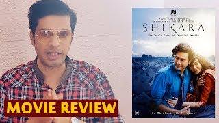 SHIKARA Movie Review | Full Movie | Vidhu Vinod Chopra Film | By RJ Divya Solgama