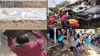 धार में बेकाबू भीड़ ने ले ली बेकसूर लोगों की जान ,THE NEWS INDIA