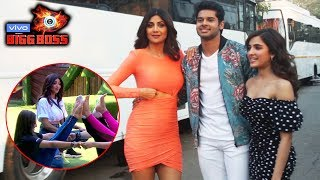 Shilpa Shetty, Shirley Setia & Abhimanyu Dassani Spotted Promoting Their Film At Bigg Boss 13  Set