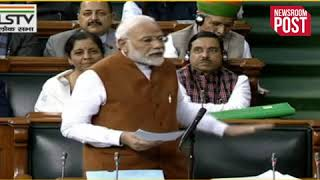 PM in LokSabha-  Nehru Too Wanted Law for Religious Minorities, Does That Make Him Communal?