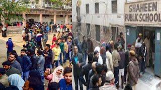 Delhi Election // दिल्ली के शाहीन बाग में मतदान को लेकर उत्सुकता // THE NEWS INDIA