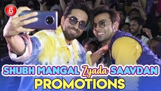 Ayushmann Khurrana & Jitendra Kumar Promote Shubh Mangal Zyada Saavdhan