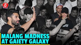 Disha Patani, Aditya Roy Kapur, Kunal Kemmu Spread Some Malang Madness At Gaiety Galaxy With Fans