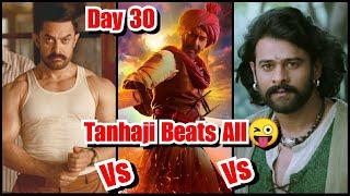 Tanhaji Vs Dangal Vs Baahubali 2 Collection Comparison On Day 30
