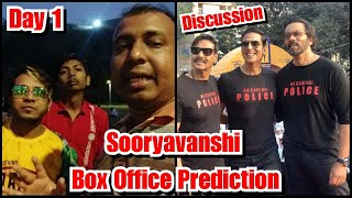Sooryavanshi Box Office Prediction Day 1 Discussion By Filmy Sikander And Nitin Bhai