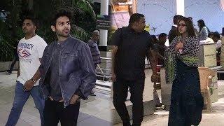 Kartik Aaryan And Sara Ali Khan Return To Mumbai After Love Aaj Kal 2 Promotion In Jaipur