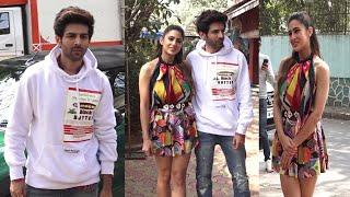 Kartik Aryaan & Sara Ali Khan Promotion Film Love Aajkal 2   News Remind