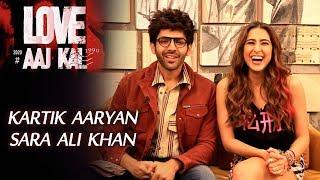 Exclusive: Kartik Aaryan And Sara Ali Khan | LOVE AAJ KAL | RJ Divya Solgama
