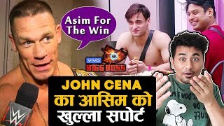 Bigg Boss 13 | John Cena Once Again POSTS Asim Riaz Photo | Asim For The Win | BB 13 Video