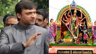 HYDERABAD NEWS अकबरुद्दीन ओवैसी ने कहा महाकाली का मंदिर निर्माण करवाना होगा // THE NEWS INDIA
