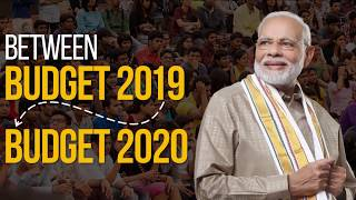 Connecting dots between Budgets of 2019 and 2020, the Modi Govt is seamlessly delivering on promises