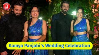 Sneak Peek Into Kamya Panjabi-Shalabh Dang's Grand Wedding Celebrations