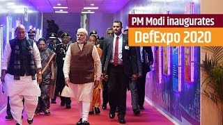 PM Modi inaugurates 'DefExpo 2020' in Lucknow, Uttar Pradesh | PMO
