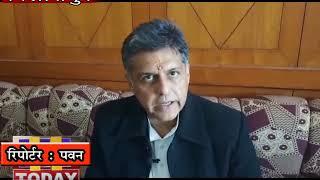 10 FEB N 7 B 2दिल्ली में भाजपा की एक बहुत बड़ी हार होने वाली कहा कांग्रेस के  नेता   मनीष तिवारी ने
