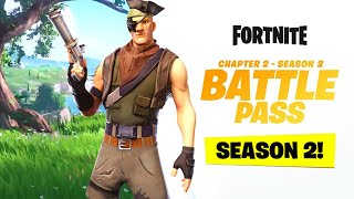 Fortnite Season 2 Official Battlepass Overview