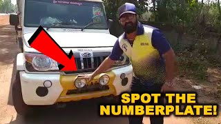 Spot The Number Plate! Watch How Rules Are Being Violated By Outstation Vechicles