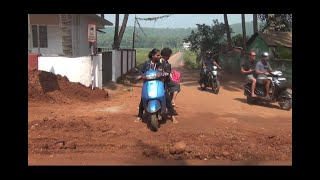 Pathetic Road Condition Of Siolim Due To WRD Work