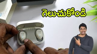 Noise Shots NEO Full Touch Control Truly Wireless Unboxing telugu