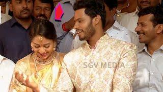 Nikhil Kumarswamy First Reaction after Engagement | Nikhil and Revathi Engagement