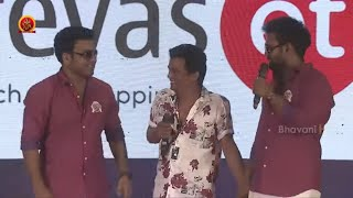 3 Monkeys Making Fun With Sunny at 3 Monkeys Pre Release Event | Sudigali Sudheer | Getup Srinu
