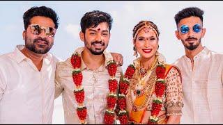 Mahat Raghavendra Prachi wedding HD Stills