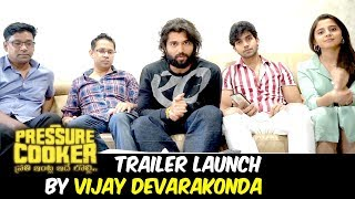 Pressure Cooker Movie Trailer Launch By Vijay Devarakonda | Rahul Ramakrishna | Bhavani HD Movies
