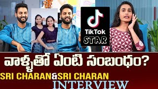 Tik Tok Sai Charan Sri Charan Exclusive Interview | Tik Tok Interviews Telugu | Top Telugu TV