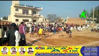 नाथुसरी कलां में कबडडी प्रतियोगिता का समापन अंतिम दिन हुए कडे मुकाबले SP खुद पहुंचे युवाओं से अपील