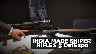 India-made sniper system featured at Defence Expo 2020 | Vipre, Sabre Sniper Rifles